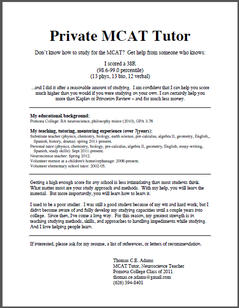 private tutor resume beautiful ideas tutor resume sample 6