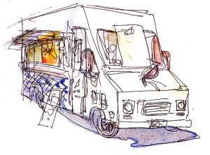 Mobile_Food_Truck_Sketch