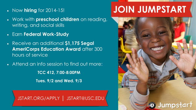 Jumpstart Info Session Ad