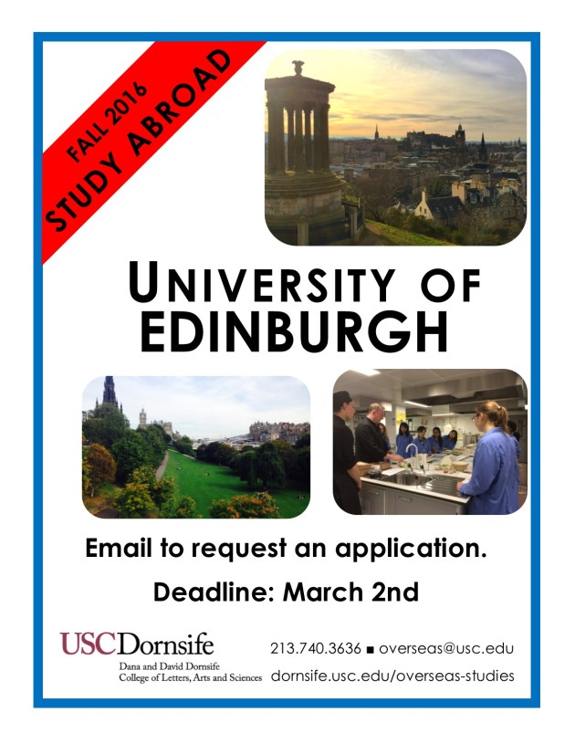 Deadline F16 Edinburgh