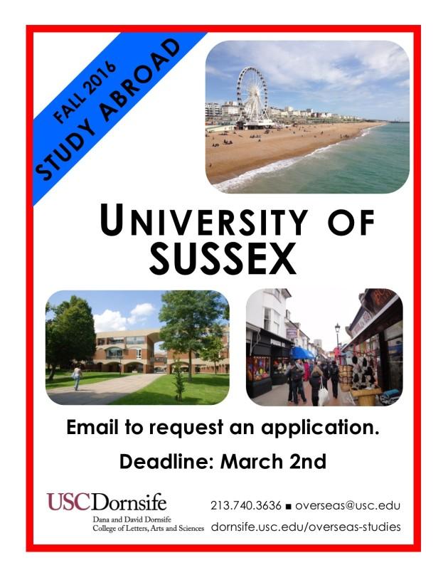 Deadline F16 Sussex
