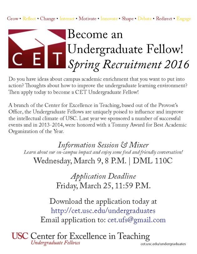 CETSpring2016Recruitment